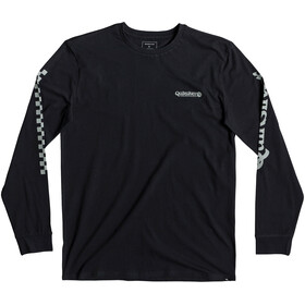 Quiksilver Check It T-shirt à manches longues Homme, black